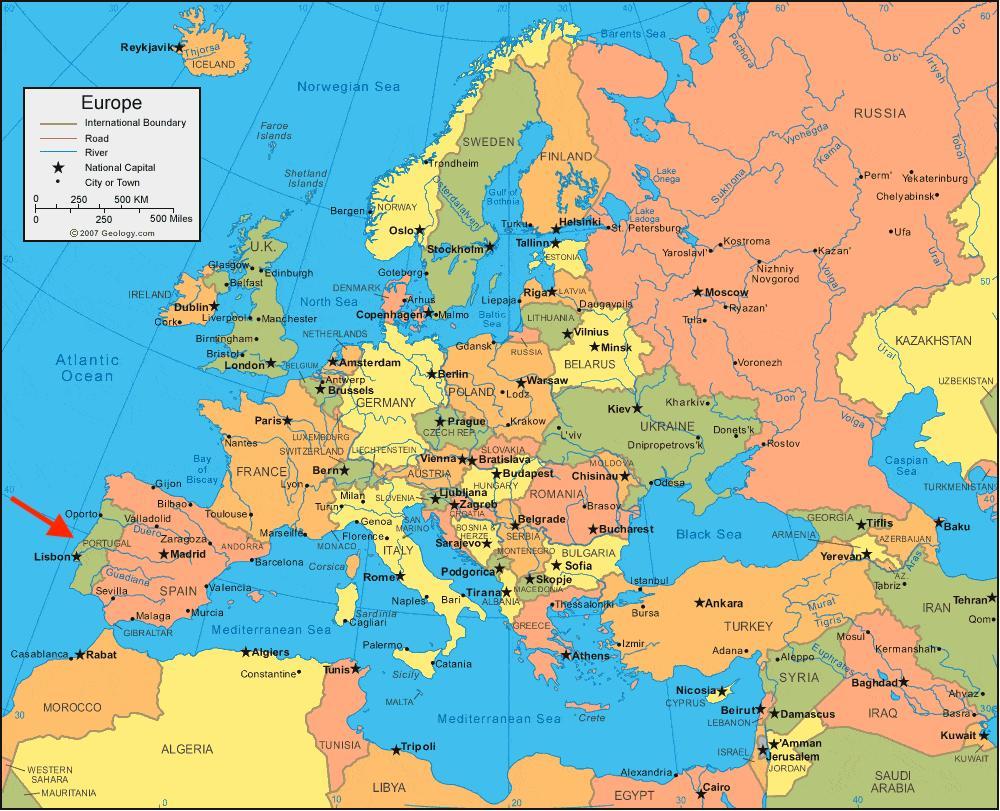 Karta Europa Portugal.Https De Maps Portugal Com Https De Maps Portugal Com Portugal
