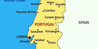 Porto Portugal Karte.Portugal Karte Geografische Karte Strassen Karte Und
